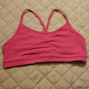 Lululemon pink sports bra size 6